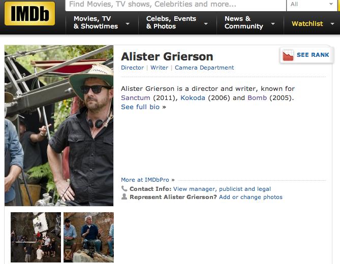 Alister Grierson